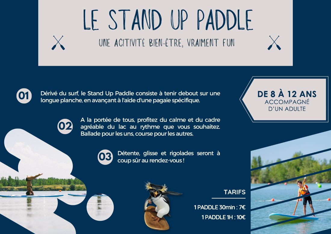 Formules Stand Up Paddle