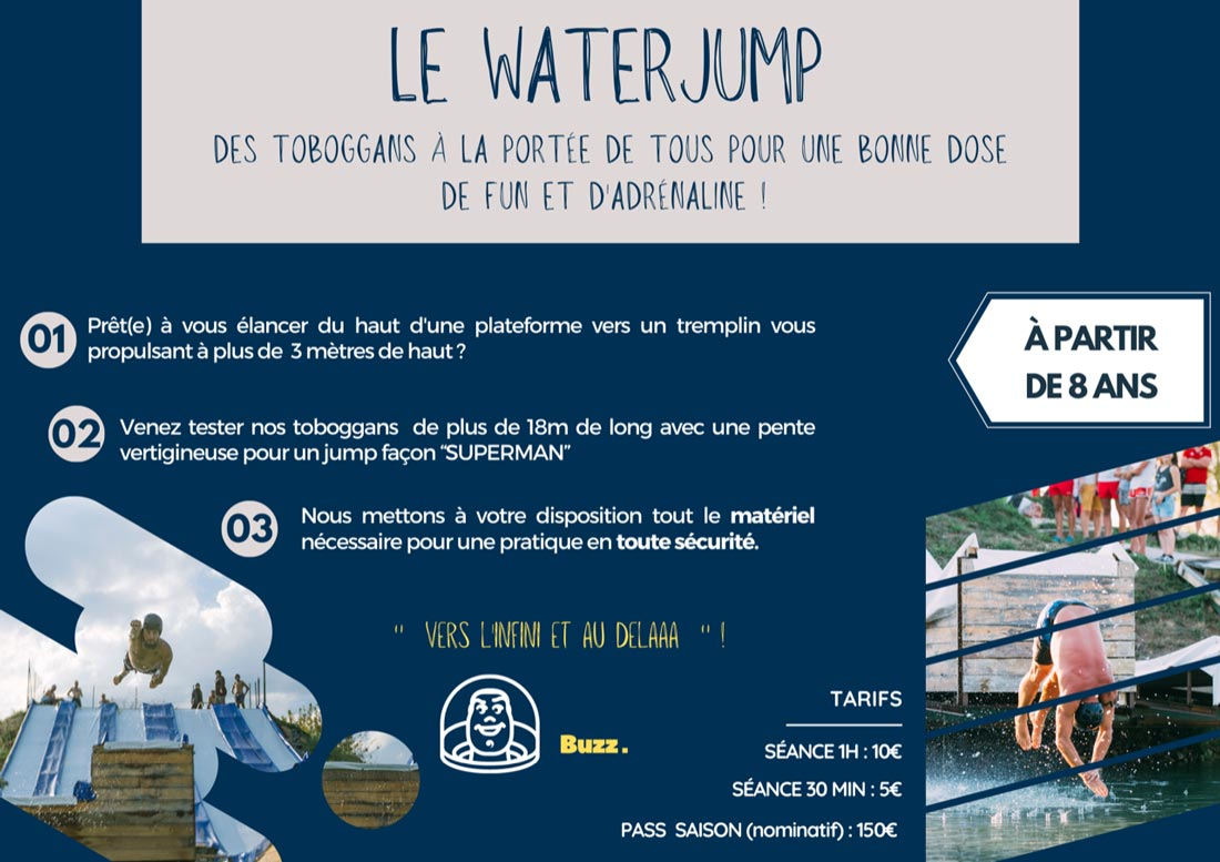 Formules Waterjump